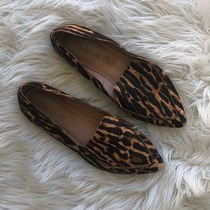 Madewell Animal Print Loafers